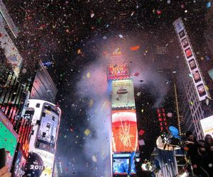 new years eve and new york image