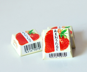 strawberry, food, and photo image