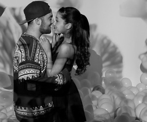 ariana grande, the way, and mac miller image
