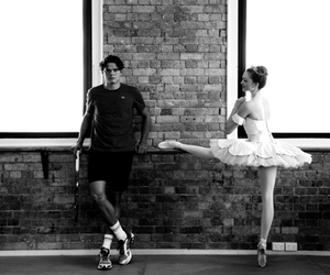love, ballet, and couple image