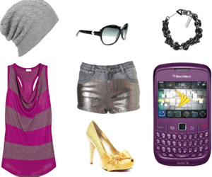beanie, Polyvore, and shades image
