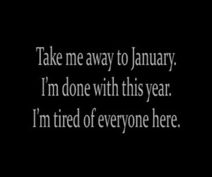 january and text image
