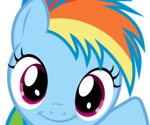 dash, my little pony, and rainbow dash image