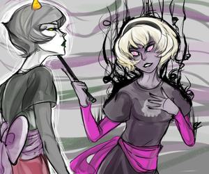 rosemary, homestuck, and rose lalonde image
