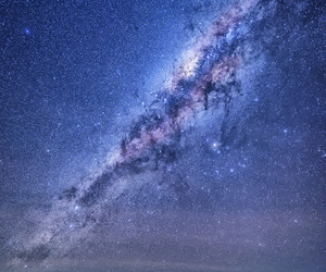 australia, milky way, and night image