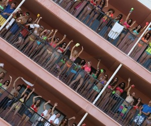 spring breakers, party, and summer image