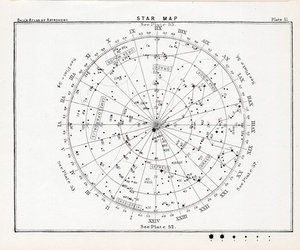 stars, map, and sky image