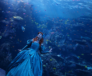 ariel, disney, and blue image