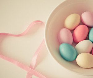 pastel, easter, and eggs image