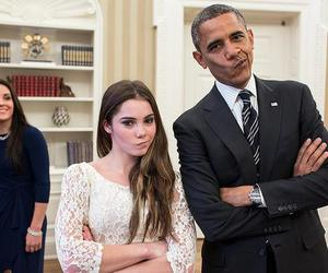 obama, funny, and president image