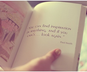 book, quote, and inspiration image