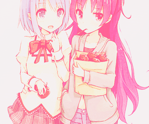 anime girl, puella magi madoka magica, and edit by kimiphantomhive image