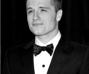 josh hutcherson, the hunger games, and Hot image
