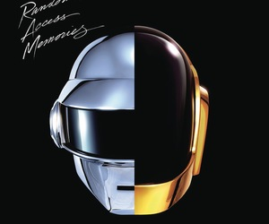 album cover, cover, and random access memories image
