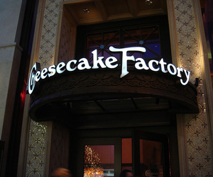 cheesecake and factory image