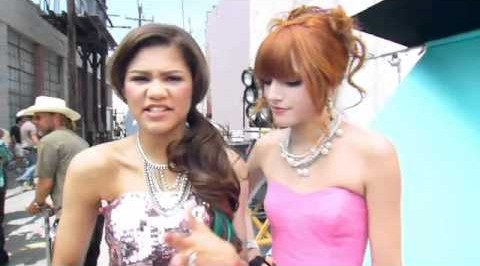 bella thorne, shake it up, and bella thorn image