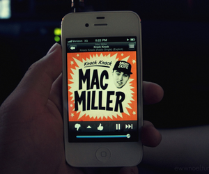 mac miller, apple, and photography image