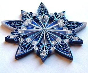 diy, quilling, and star image