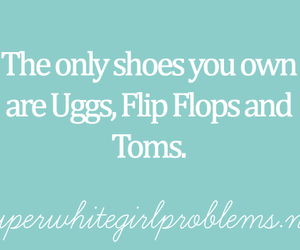 fashion, flip flops, and quotes image