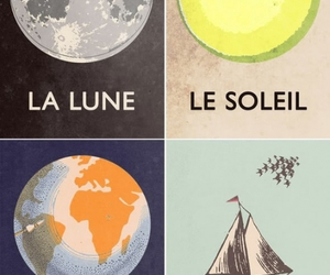 sun, moon, and french image