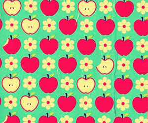 apple and pattern image