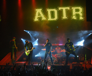 a day to remember, concert, and adtr image
