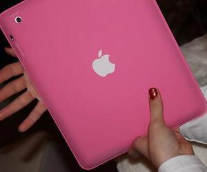 ipad and pink image