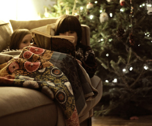 christmas and reading image