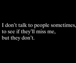 quotes, people, and sad image