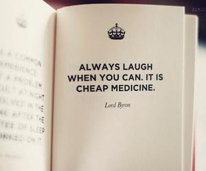laugh, book, and life image