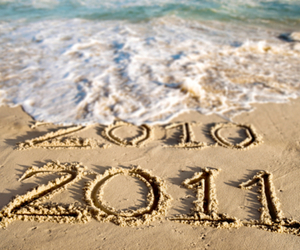 2011, 2012, and beach image