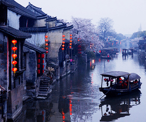 boat, china, and japan image