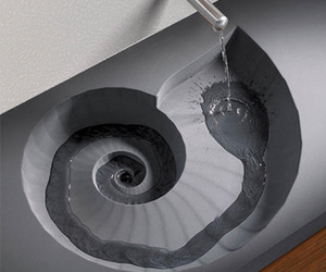 sink, water, and design image