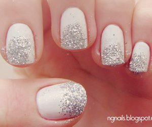 blog, glitter, and ombre image