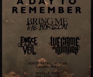 bmth, pierce the veil, and a day to remember image
