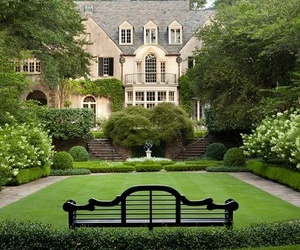 house, beautiful, and garden image