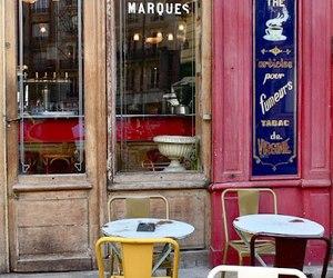 paris and cafe paris image