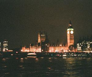 vintage, night, and Big Ben image