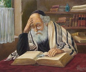 jew, judaism, and painting image