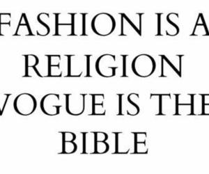 fashion, quote, and religion image