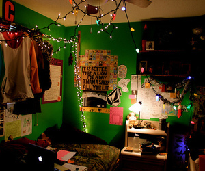 lights, photography, and room image