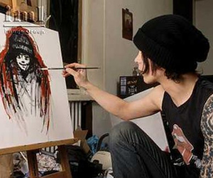 art, ville valo, and him image