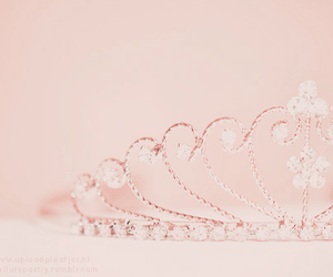 pink, princess, and tiara image