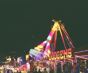 lights, fair, and fun image