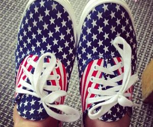 usa, shoes, and vans image