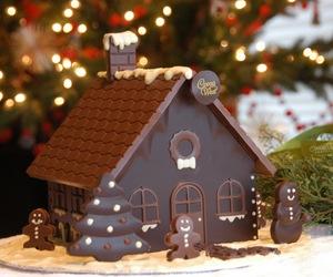 chocolate, snowman, and christmas image
