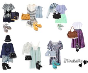 closet, denim, and fashion image