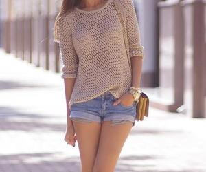 brown, clothes, and cool image