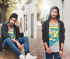 boy, style, and relax image