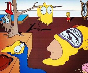 simpsons, art, and the simpsons image